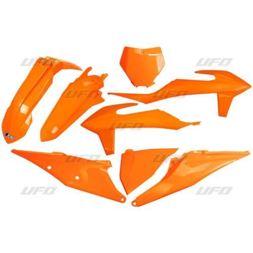 KTM SXF 250 2019 Full UFO Plastic Kit Orange