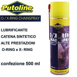 Catena O Ring Ox Ring.Putoline Grasso Catena O Ring Spray Lubrificante O X Ring Per Moto