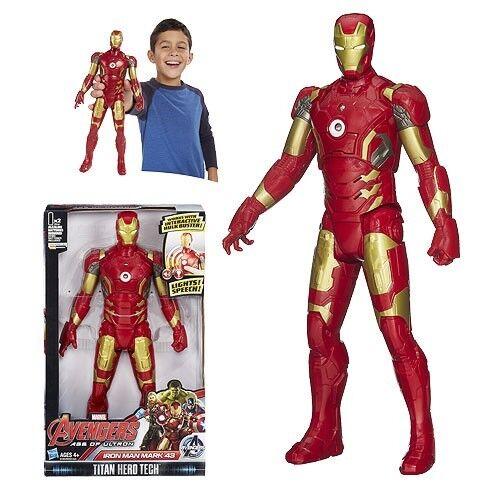 Marvel Avengers Age of Ultron Titan Hero Tech Iron Man Mark 43-12 Inch Figure