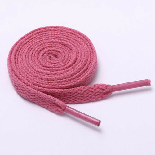 Shoelaces Colorful Coloured Flat Round Bootlace Sneaker Shoe Laces Shoe Strings