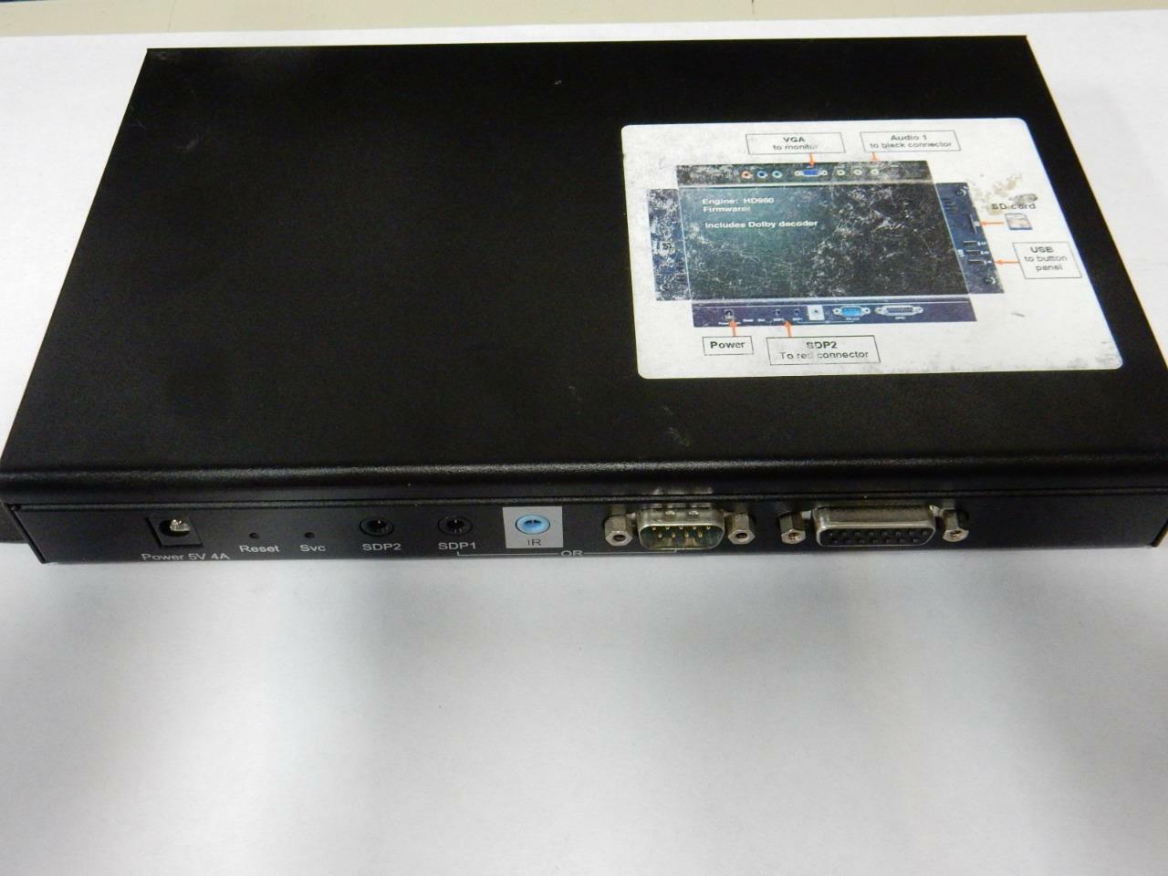 BrightSign HD962 HDMI Electronic Digital Retail Display RS-232 No Powercord