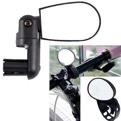 Bike Bicycle Cycling Rear View Safety Mirror Bar End Handbar Road Black T1EY