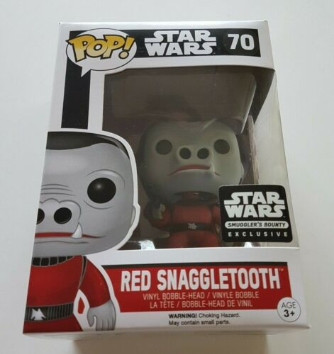 Funko Pop Star Wars 70 rouge dent plus longue contrebandiers Bounty Exclusive
