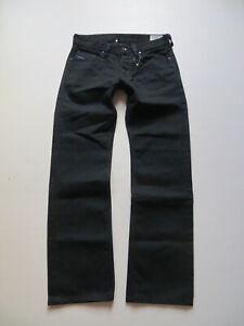 Diesel-LARKEE-wash-008XE-Jeans-Hose-W-31-L-32-Schwarz-vnt-Black-Denim-RAR