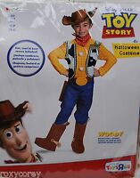 Halloween Disney Toy Story Woody Costume Size Small 4-6