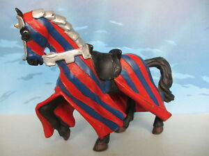 FIGURINE-COLLECTION-PAPO-CHEVALIER-CHEVAL-CHATEAU-2000-30