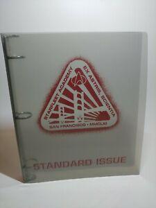 Vintage-1997-Star-Fleet-Academy-Binder-Logo-San-Francisco-MMCLXI