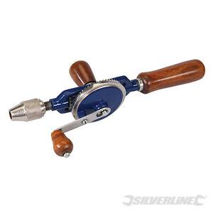 Silverline-Doppelritzel-Handbohrer-Handbohrmaschine-675032