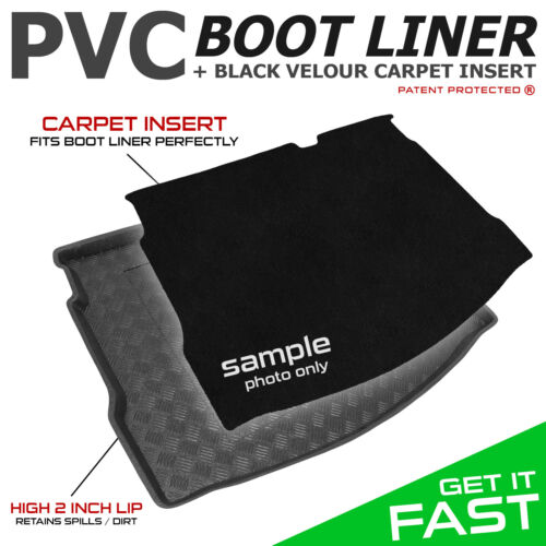BMW Mini Countryman 2010 Mat Tailored PVC Boot Liner Tray V UPPER LEVEL