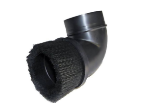 """Shop Vacuum Vac 2 1//2/"""" Cleaner Dust Brush Angled Elbow Attachment Blk 88-1600-07"""