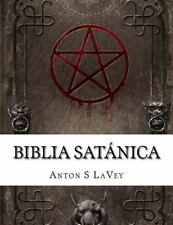 Biblia Satánica by Anton LaVey (2015, Paperback) En Español