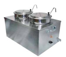 Wyott Cwm 2sp Dual 7 Quart Soup Warmer