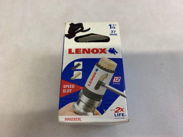 Speed Slot Bi-Metal 7//8-Inch Arbored LENOX Tools Hole Saw 1 1772429