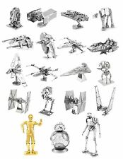 Star Wars Metal Earth 3D Models Laser Cut DIY Steel Miniatures 16 Designs