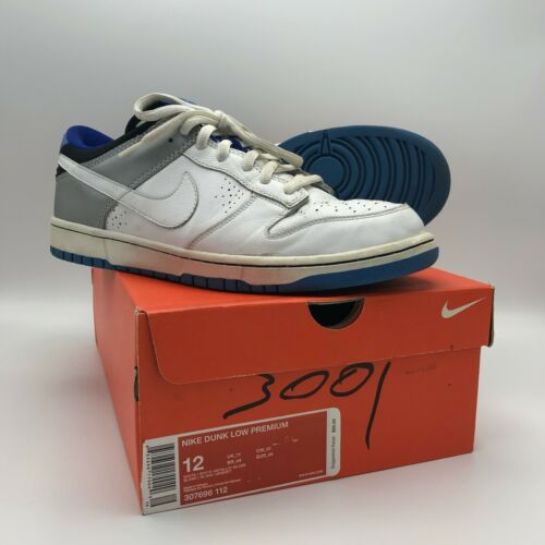 Used with Original Box NIKE Dunk Low 307696-112 Si