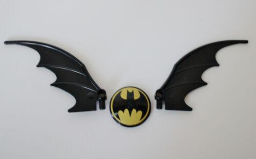 2 Batmobile wings LEGO DC Heroes Batman Bat Signal Radar Disc logo