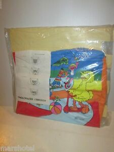 Image is loading SESAME-STREET-MUPPETS-SMALL-SAMPLE-SIZE-VINYL-DOME- & SESAME STREET MUPPETS SMALL SAMPLE SIZE VINYL DOME PLAY TENT RARE ...