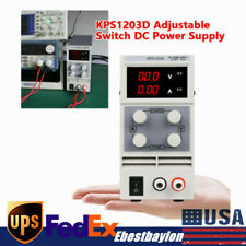 0 120v Adjustable Variable Linear Lab Dc Bench Power Supply Withdigital Display Us