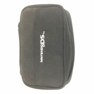 Black Zip Carry Case for Nintendo DS - Fits Most DS Consoles