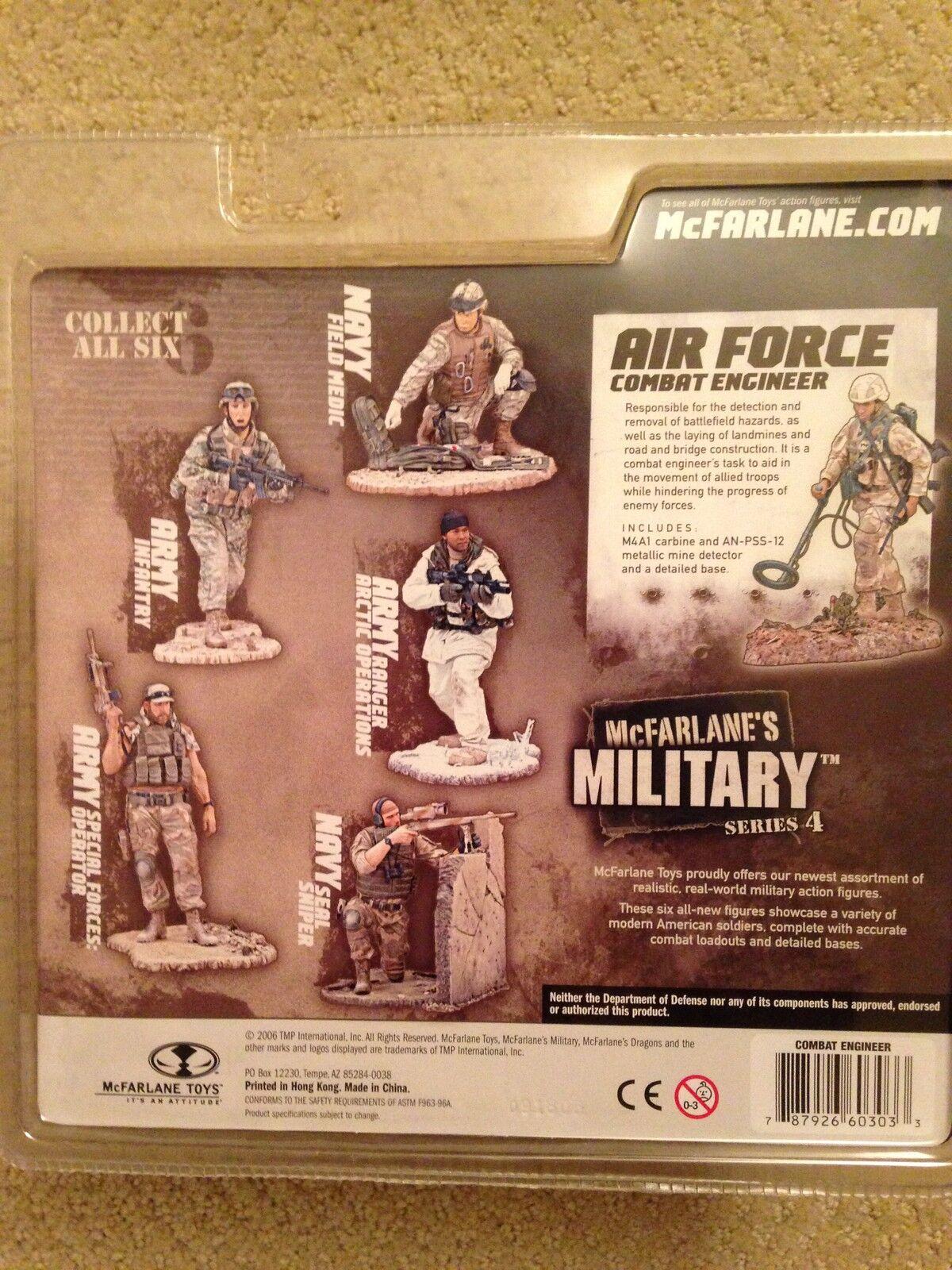 Mcfarlane Military Series 4 completare Unopened azione cifra  Collection  100% autentico