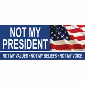 Not-My-President-Donald-Trump-2020-Vinyl-Bumper-Sticker-Decal