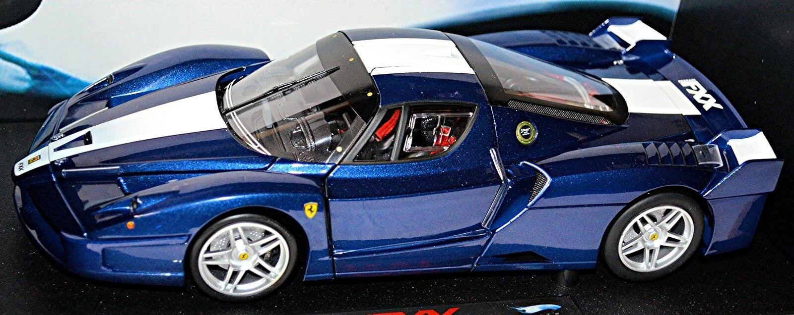 Ferrari FXX Coupe 2005-06 Bleu bleu Metallic 1 18 Elite-Hotwheels