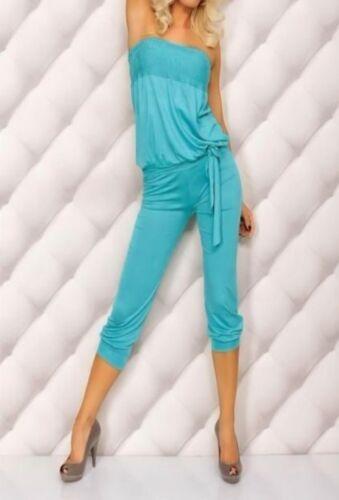 Casual Summer Fashion beach wear Strapless Jumpsuit Bodysuit Romper BD1 4colors