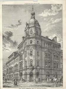 1887-Head-Office-Commercial-Bank-Of-Scotland-In-Glasgow-Sydney-Mitchell