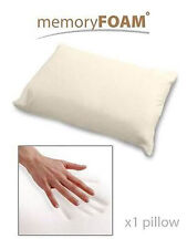VISCO MEMORY FOAM PILLOW THERAPY SOFT YET FIRM PEACEFUL SLEEP COTTON COVER
