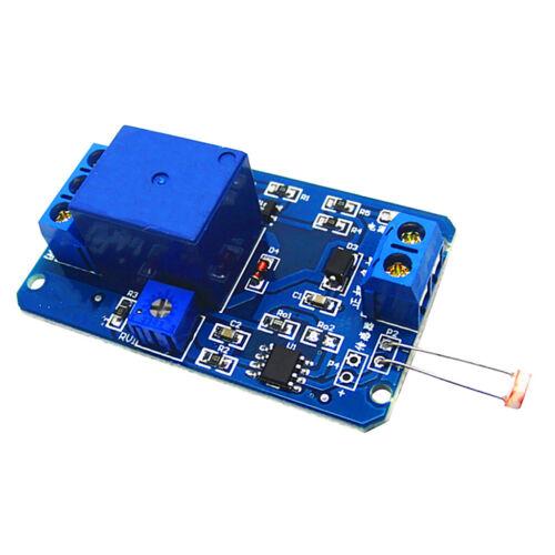 12V Lichtregelschalter Photowiderstand Relais Modul Erkennung für Arduino