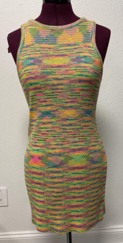 CUTE VINTAGE SWEATER DRESS 1970's
