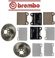 Volvo 940 1991-1995 Premium Rear Complete Disc Brake Rotors Kit & Pads & Shims on sale