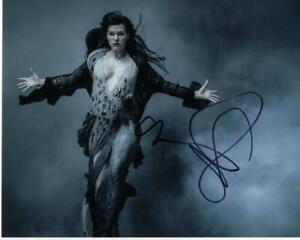 Milla Jovovich sexy hot signed 8X10 print photo photograph