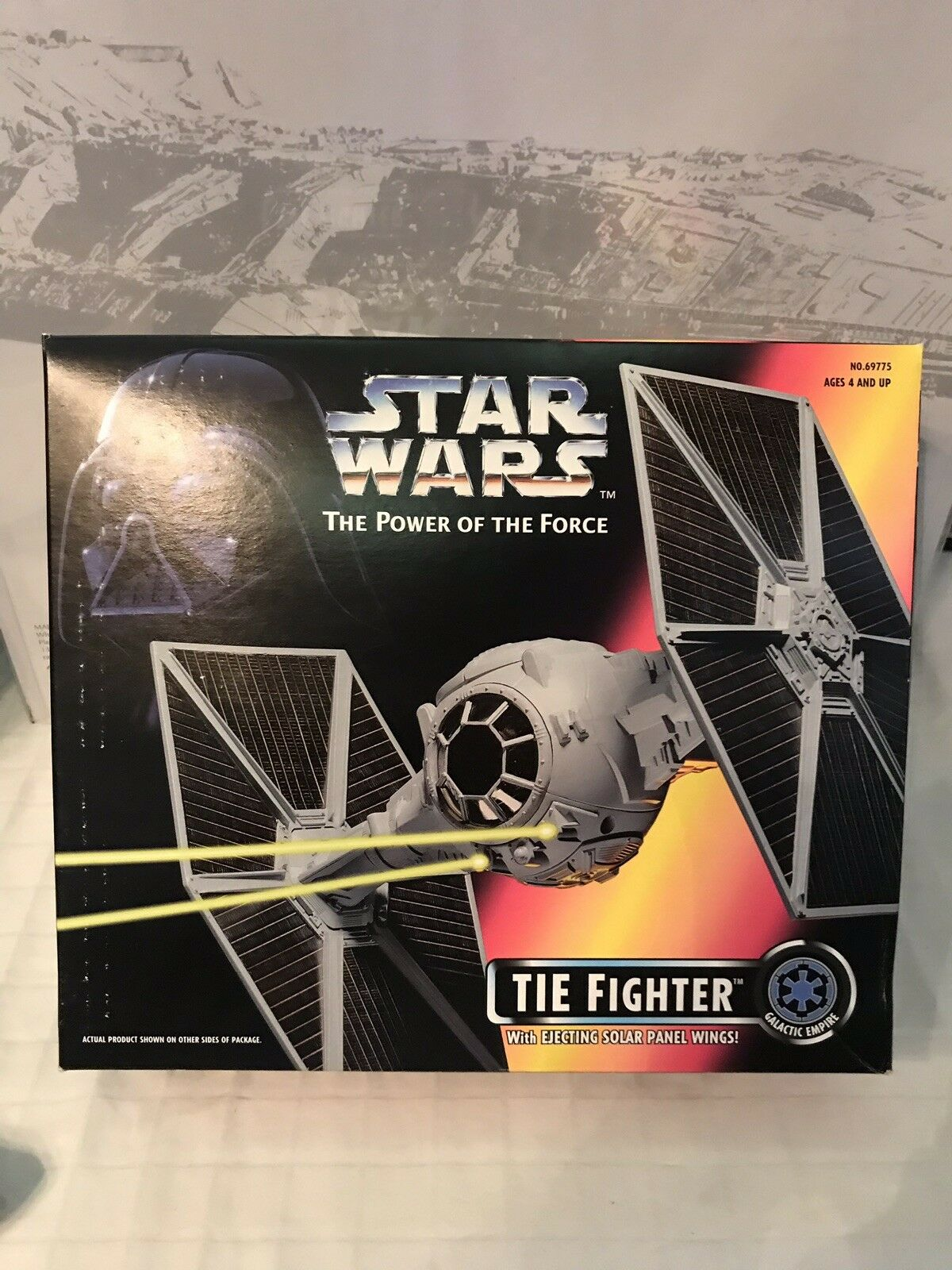 Star Star Star Wars The Power Of The Force TIE Fighter 3782c1