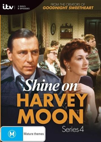 1 of 1 - Shine On Harvey Moon Series 4 - New/Sealed DVD Region 4 season
