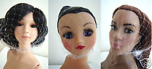 Doll Hairnet x 3 pack Rini R/&D BJD Sybarite CED doll