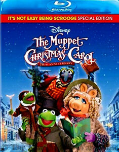 The Muppet Christmas Carol.Details About Disney Jim Henson Charles Dickens The Muppet Christmas Carol Movie On Blu Ray