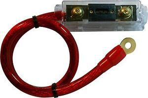200-AMP-ANL-Fuse-Holder-fuseholder-INLINE-Block-BATTERY-INSTALL-KIT-0-GAUGE-2-FT