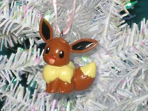 Details About 133 Eevee Christmas Ornament Pokemon Figure Select One