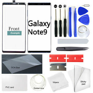 For-Samsung-Galaxy-Note9-N960-OEM-Front-Glass-Lens-Screen-Replacement-Repair-Kit
