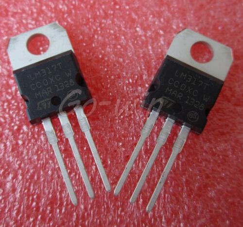 5PCS L317 LM317 LM317T TO-220 Voltage Regulator 1.2V To 37V 1.5A NEW
