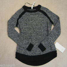 Lululemon Passage Pullover Sweater Black Angel Wing 4 8