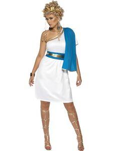 Ladies roman beauty greek goddess fancy dress costume athena outfit image is loading ladies roman beauty greek goddess fancy dress costume solutioingenieria Choice Image