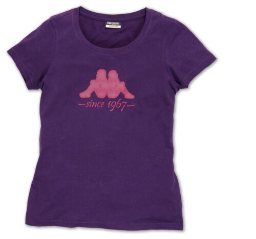 KAPPA Damen T-Shirt dunkelbeere//lila Gr Neu L