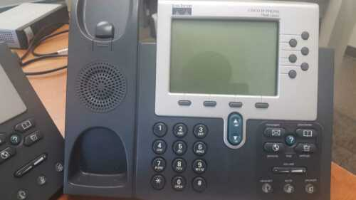 Tested Cisco 7960 CP-7960G VoIP Business IP Phone 7960 Unified PoE