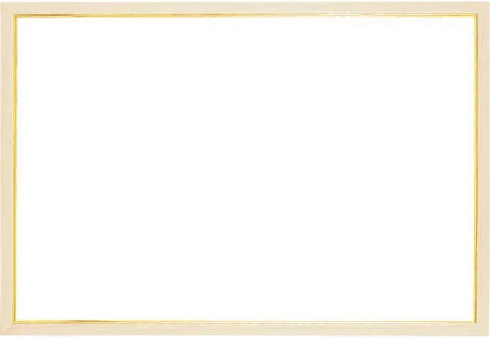 Epoch Holzpuzzle Rahmen Gold Linie Natürlich 50 X 75cm Japan Ems