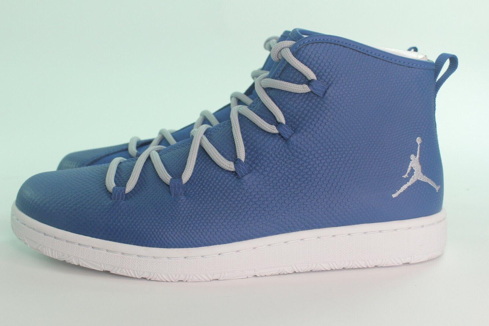 Jordan Galaxy hombre talla 9,5 francos azul nuevo C - modo raro elegante.