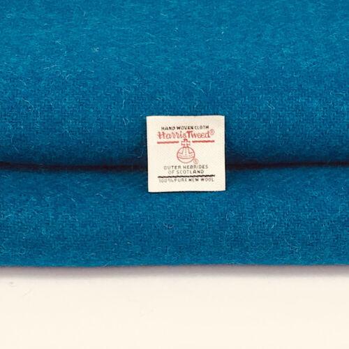 Harris Tweed Fabric Plain Kingfisher Duck Egg Blue Pink Lilac 100/% Wool Craft