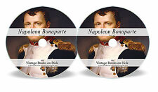 316 Rare Books on DVD Napoleon Bonaparte Battle of Waterloo Campaign Memoirs 64