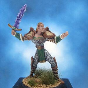 Painted-Ral-Partha-MageKnight-Miniature-Crystal-Bladesman